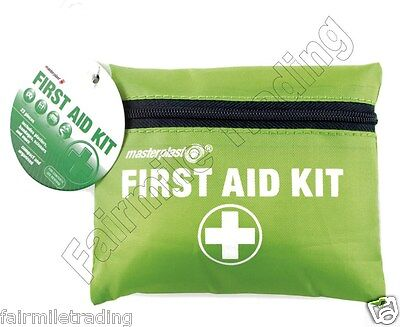 23 Piece First Aid Emergency Kit Car Bike Home Medical Camping Office Travel Bag