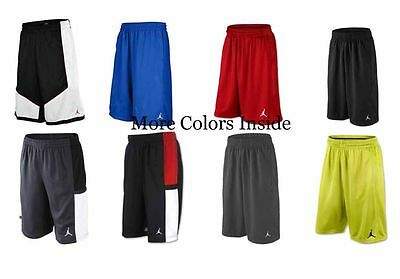 Nike Air Jordan Boys Youth Mesh Basketball Shorts Black Blue Gray Red White