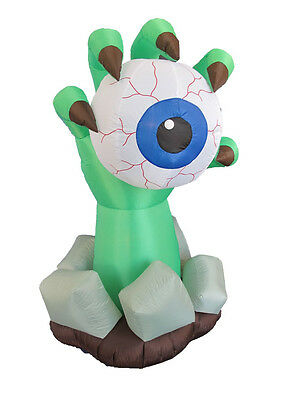 Party Halloween Inflatable Monster Hand Eyeball Yard Outdoor Decoration Prop New