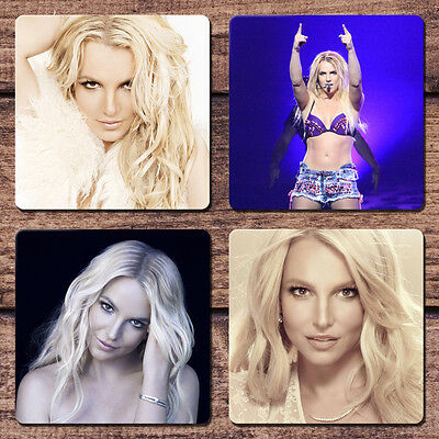 Britney Spears Coaster Set NEW Jean Vegas Gimme More Pretty Girls Perfume