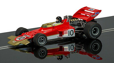 SCALEXTRIC C3542A TEAM LOTUS TYPE 72C LIMITED EDITION JOCHEN RINDT 1/32 Slot Car