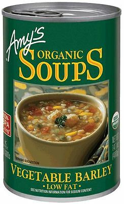 Amys Soups Vegetable Barley Soup 400g (Pack of 2)