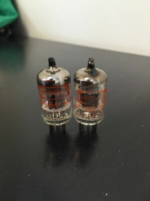 6Ak5W 5654 Raytheon Nos Matched Pair Valve/tube