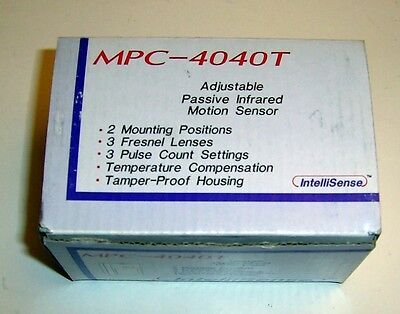MPC-4040T PASSIVE INFRARED MOTION SENSOR for ALARM SYSTEMS