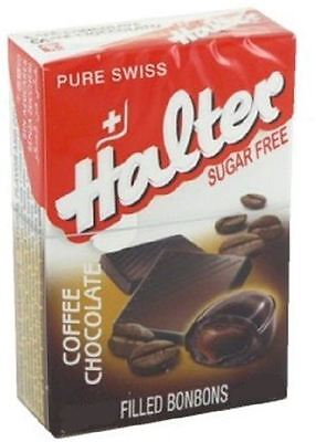 Halter Bonbons Coffee Chocolate Sugar Free 40g (Pack of 2)
