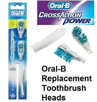 Oral-B Electric Toothbrush Heads Cross Action Power Replacement Brush Heads Soft
