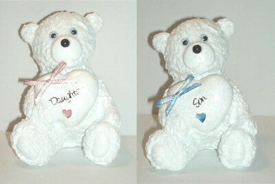 Personalised Teddy Bear Grave Memorial Graveside Graveyard Garden Ornament