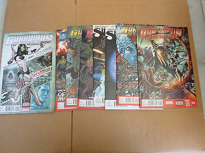 Guardians of the Galaxy 15 - 22 SET  PLUS  Annual #1  (Marvel NOW) missing 19