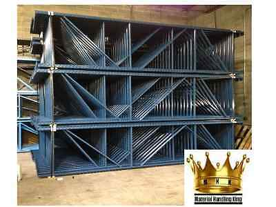 Pallet Rack- Teardrop - Warehouse Racking - Uprights - 144'' x 48''