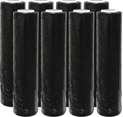 1 2 3 6 Strong Rolls Black Pallet Wrap Stretch Shrink Parcel Packing Cling Film
