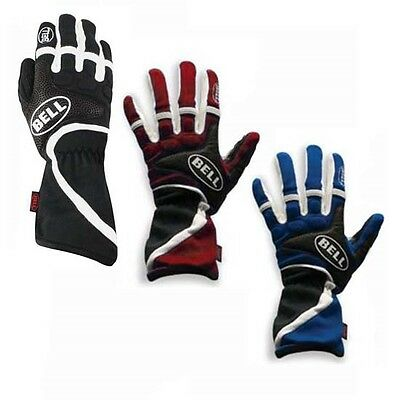 Bell F1 Style Formula FX Racing Driving Gloves, Blue, Size Large/L
