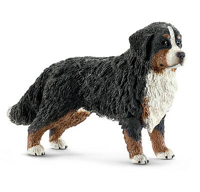 Schleich 16397 Bernese Mountain Dog Female Model Animal Figurine Toy - NIP