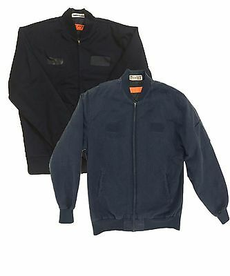 Red Kap Men Work Jackets (Quilt Lined Perma Solid Team Jacket) Navy/ Black JT38