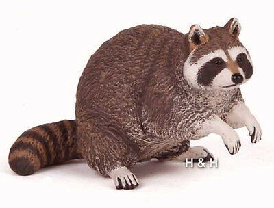 Papo 53016 Raccoon Model Wild Animal Figurine Replica Toy Gift - NIP