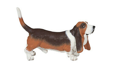 Papo 54012 Basset Hound Toy Dog Canine Animal Replica Figurine - NIP