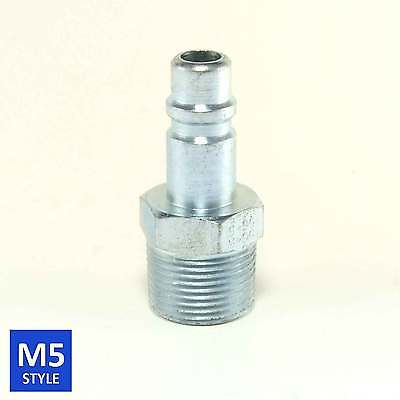 Foster 5 Series Quick Coupler Plug 1/2 Body 3/4 NPT Air and Water Hose Fittings