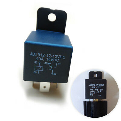 Boat/Auto/Motorcycle 14VDC 12V 30A 40A AMP 5Pin ON/OFF Split Changeover Relay