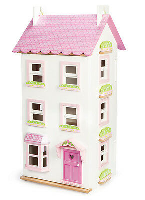 NEW Le Toy Van Victoria Place 4 Storey Wooden Dolls House