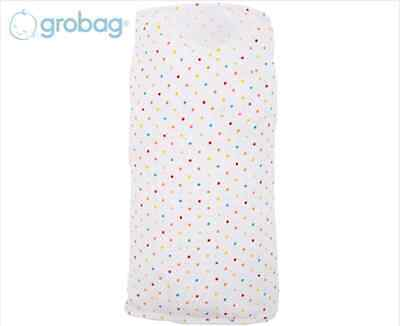 Grobag Size 0-3 Months Little Pop Gro-Swaddle Made using 100% cotton AU Ship