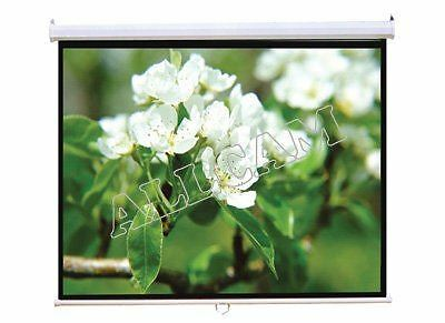 "PCW80MM 80"" HD Projector Screen 16:9 Matte White Manual"