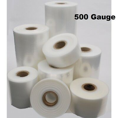 165m Layflat Polythene Poly Tubing Tube Plastic Packaging 500g *ALL SIZES & QTYS
