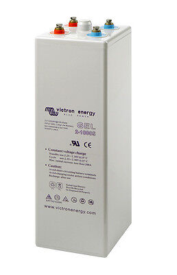 Gel Solar Batterie / Victron Energy Batterie 2 Volt Long Life GEL 200-3000 Ah