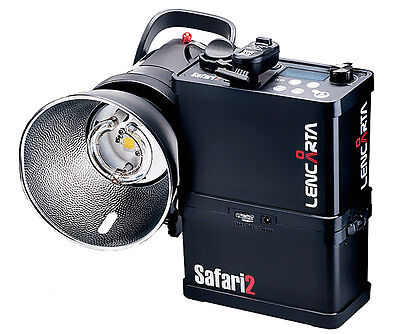 Lencarta Safari 2 600Ws Portable Flash System for Location Photography