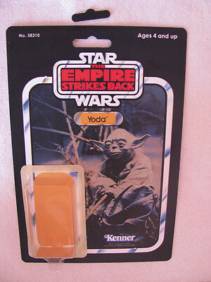 Vintage Yoda 41 Back Star Wars Empire Strikes Bck Deluxe Restoration Kit Perfect