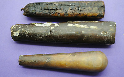 Medieval 15th century cutlery handles found on Thames foreshore