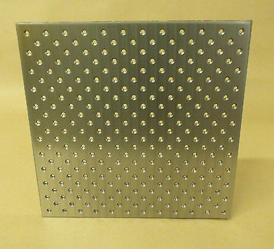 "Tooling Plate, 12"" x 12"", 1/4-20 Holes, TLPLATE1212"