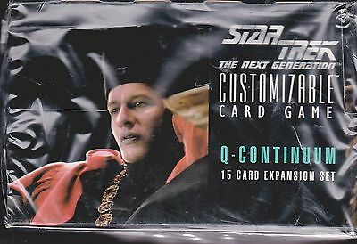 STAR TREK CCG REFLECTIONS 1//2 BOX 15 SEALED BOOSTER PACKS NEW
