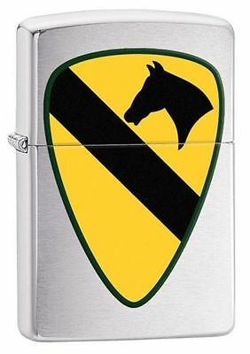 Zippo Windproof United States Army 1st Cavalry Lighter, 29184, New In Box