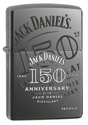 Zippo Windproof Jack Daniels 150th Anniversary Lighter, 29188, New In Box