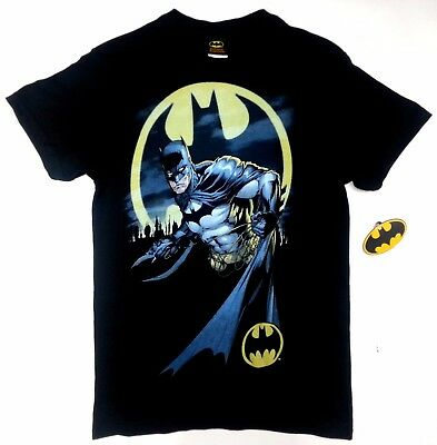 Batman The Dark Knight BATMAN HEED THE CALL BAT SIGNAL T-Shirt NWT Licensed