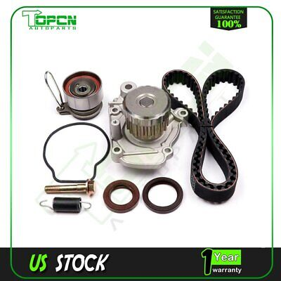 Fits Honda Civic EX Vtec 1.7L D17A Timing Belt & Water Pump kit+Tensioner Spring