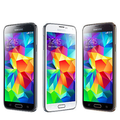 5.1-Inch Samsung SM-G900F Galaxy S5 16GB 4G LTE 13.0MP WIFI Android Mobile Phone