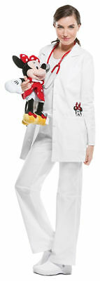Tooniforms Women's Modern Fit Front Patch Pockets Long Sleeve Lab Coat. TF400