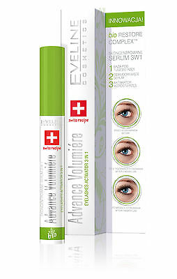 Eveline Volumiere Advance Concentrated Serum 10ml lashes 3in1