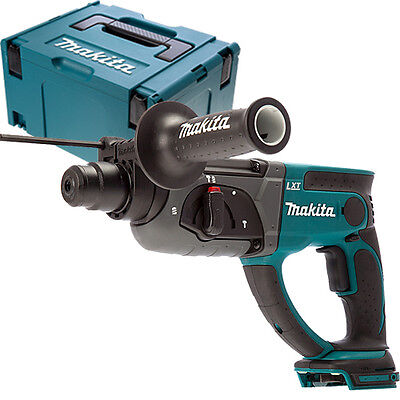 Makita DHR202Z 18V Cordless SDS+ Rotary Hammer Drill With Inlay & 821551-8 Case