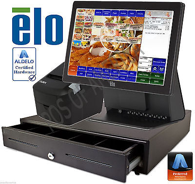 Aldelo Pro Quick Service Restaurant All-In-One Complete Pos System New