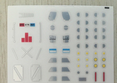 Eness detail decals for MP23 Exhaust,In stock!