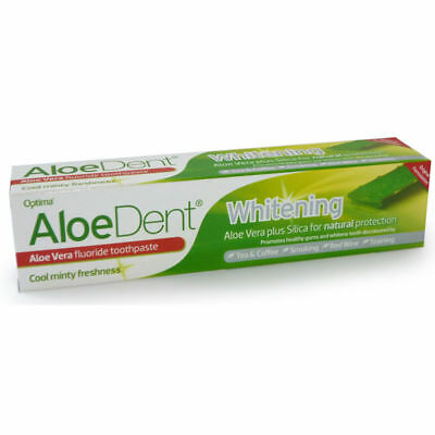 Optima Aloe Dent Aloe Vera Whitening FLUORIDE Toothpaste 100ml - Multibuy