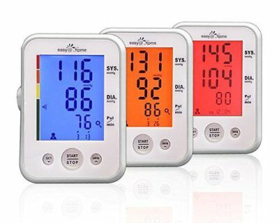 Easy@Home Digital Upper Arm Blood Pressure Monitor-Normal Cuff(8.67 - 12.5 inch)