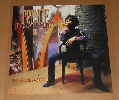 Prince The Vault Old Friends 4 Sale Poster 1999 Original Promo 18x18