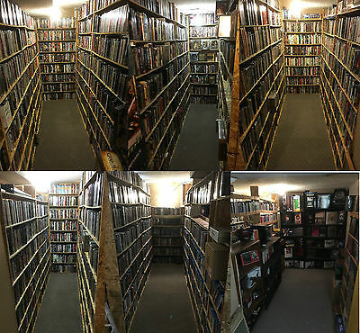 15,495 Movies! World's Largest Collection.Blu-ray/DVD/3D/Criterion/Steelbook/OOP