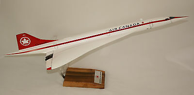 Concorde In Air Canada Livery Large 1:100 Scale Precision Model - Amazing