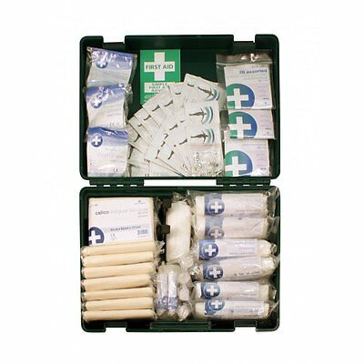 Blue Dot 1 - 50 person HSE compliant site, work & office first aid kit 50E