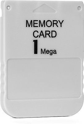 1MB 15 Block Memory Card For Sony PS1 Playstation 1 PSX New