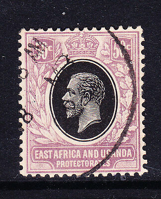 KUT BRITISH EAST AFRICA 1912 SG71 50c wmk Script CA fine used. Cat £120