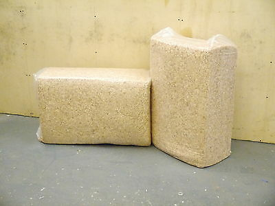 Bale of Shavings 100% Soft Wood Highly Absorbent Approx 20Kg-22Kg Sawdust